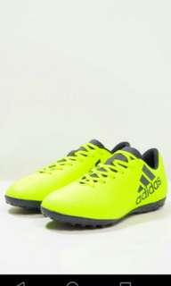 Authentic Boy's adidas X 17.4 Junior Astro Turf boots
