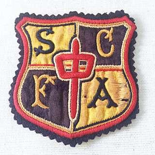 Vintage SCFA Sports Team Patch circa 60s