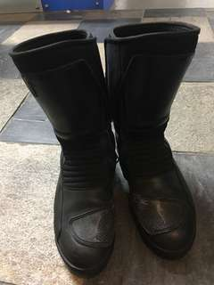 BMW riding boots