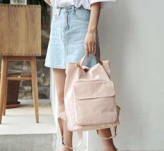 Pink shoulder bag Cute Backpack (PO)
