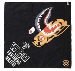 INSTOCK Bape tiger shark bandana