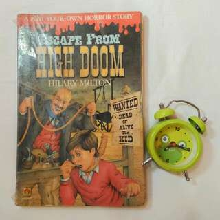 Escape From High Doom by Hilary Milton