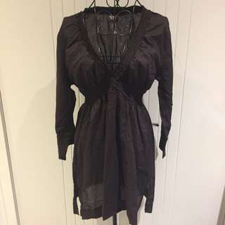 (Size L) Seafolly blouse/cover up