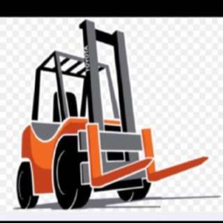 Forklift, Lorry and refrigerator truck rental!