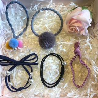 hair band (发圈), hair accessories. S$1.2 including free normal mail