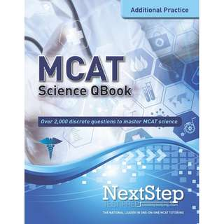 MCAT QBook Over 2,000 Questions Covering Every MCAT Science Topic (More MCAT Practice) 3rd Edition
