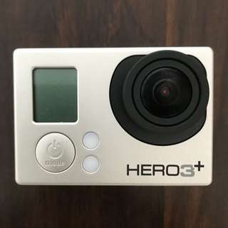 Pre-loved GoPro Hero 3+ (with LCD viewing camera)