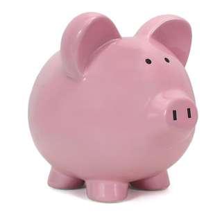 Child to Cherish Piggy Bank (one blue, one pink)