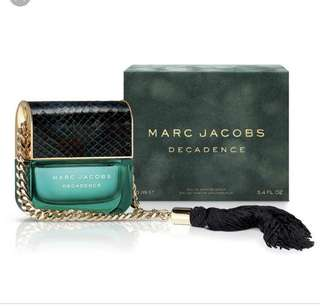 Brand new Marc Jacobs Decadence