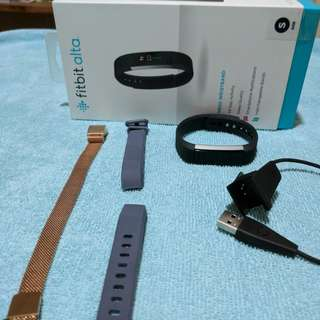 Fitbit Alta Small (with freebies)