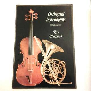 Orchestral Instruments Music BOok