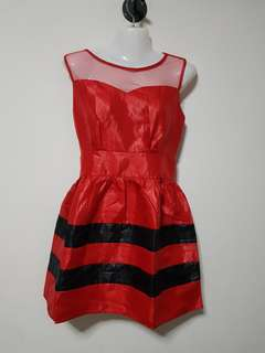 brand new Red Dress( box OO)