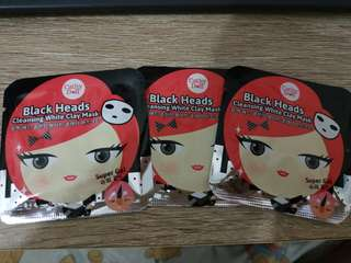 Cathy Doll - Black Heads Cleansing White Clay Mask