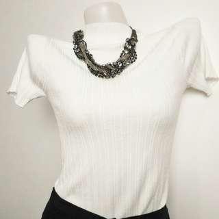 White Bodycon Shirt