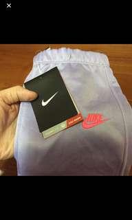 🚚 Nike粉紫色長褲2-3歲