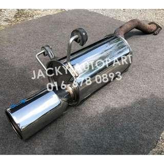 "Muffler Exhaust Fgk Fujitsubo Giken Wagolis 2"" Jpn"