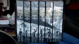 The mortal instruments books 1-6