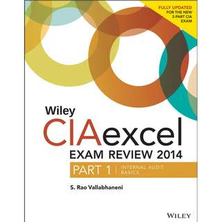 Wiley CIAexcel exam review 2014 Part 1 Internal Audit Basics