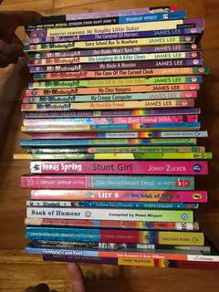 Books 3 for $10