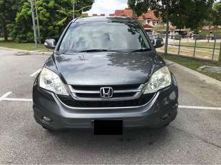 SAMBUNG BAYAR/CONTINUE LOAN  HONDA CRV 2.0 AUTO YEAR 2010 MONTHLY RM 1100 BALANCE 6 YEARS ROADTAX OGOS 2018 MILEAGE LOW LEATHER SEAT  DP KLIK wasap.my/60133524312/crv
