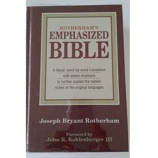 Rotherham's Emphasized Bible Hardcover – June 30, 1959 by Joseph Bryant Rotherham