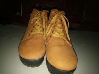Sepatu Boots Light Brown #AFBakrie