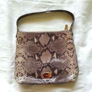 Auth Michael Kors Snake Print Bag