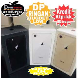 Apple iPhone 8-256GB New Cash/kredit Dp 3jt ditoko Promo Ktp+kk wa;081905288895