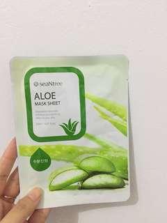 SeaNtree Aloe Mask Sheet