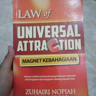 Law Attraction Books