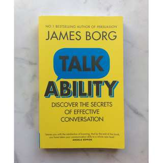 Talk Ability by James Borg