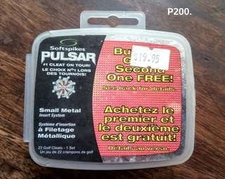 Pulsar Softspikes small metal inserts