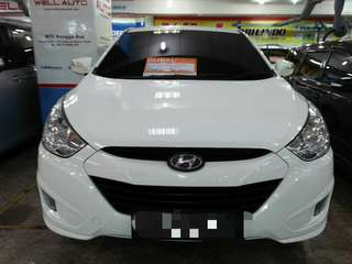 Hyundai New Tucson 2.0 Tahun 2012 AT Putih metalik