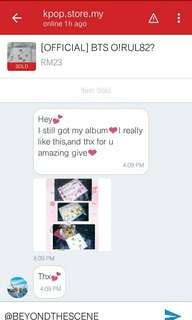 [ CUSTOMER FEEDBACK ] BTS O!RUL82? ALBUM