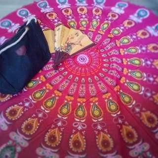 Round Mandala4 Pink