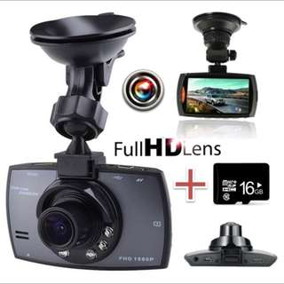 HD Night Vision Car DVR G-sensor Camcorder 16G SD Card + Car DVR)