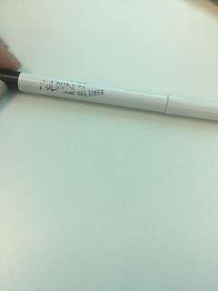 Authentic ColourPop Creme Gel Eyeliner