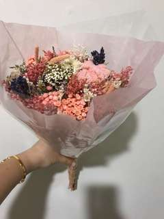 Dry Flower Bouquet - mothers day
