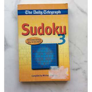 The Daily Telegraph Sudoku 3