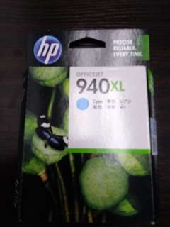(包郵)Officejet墨盒HP940XL 藍