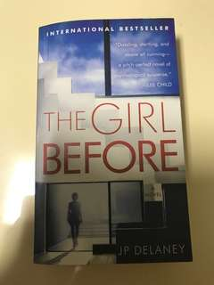 9/10 The Girl Before by JP Delaney