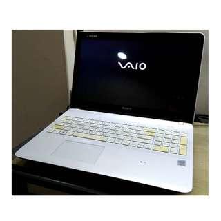 SONY VAIO SVF15329CW i5第四代  15.5吋 觸控螢幕 輕薄時尚效能筆記型電腦