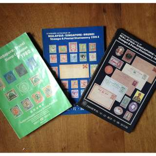 Stamp catalogue $10 each