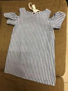 120cm kids stripe dress