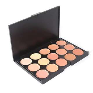 15 Colour Contour Cream Palette
