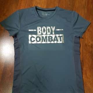 Baju body combat... comfort banget.. enak dan nyama...strecth .. di beli ga dipakai .. cuma sudah di cuci