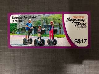 Segway Fun Ride (1 round) Voucher