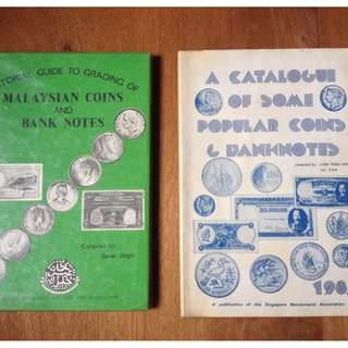 2 old coin catalogues for $100