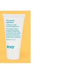 Evo The Great Hydrator Moisture HAIR Mask 30ml BRAND NEW & AITHENTIC [PRICE IS FIRM, NO SWAPS]