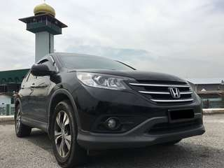 HONDA CRV 2.4 FULL-SPEC